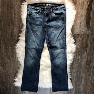 Articles of Society slightly flared Jeans Sz 27